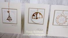 Stampin` Up! Allerbeste Wünsche Weihnachtskarten