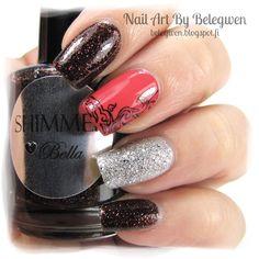Nail Art by Belegwen: Shimmer Polish:Bella