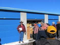 Shannon Schur conducts a storage auction. If you are interested in attending a storage auction visit our website .storageauctionkings.com and u2026 & Shannon Schur conducts a storage auction. If you are interested in ...