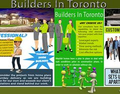 """Check out new work on my @Behance portfolio: """"Builders In Toronto"""" http://be.net/gallery/46936335/Builders-In-Toronto"""
