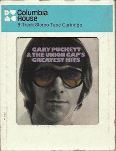 GARY PUCKETT & UNION GAP Greatest Hits 8 TRACK TAPE MUSIC ALBUM