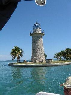Lighthouse at Boca Chita Key Campground