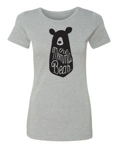 The Momma Bear Ladies T-shirt