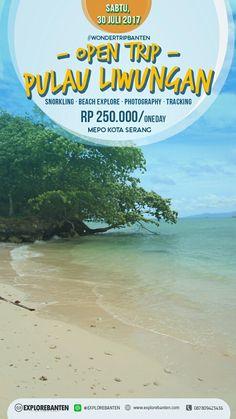 explore liwungan island.. one of favorite beach in Banten, Indonesia.   #wonderfulindonesia #explorebanten #liwunganisland