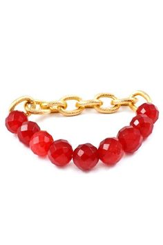 Delish Ruby Agate Bracelet