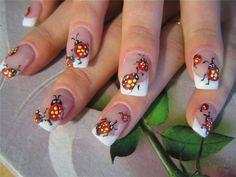 nails...I love ladybugs!!!!