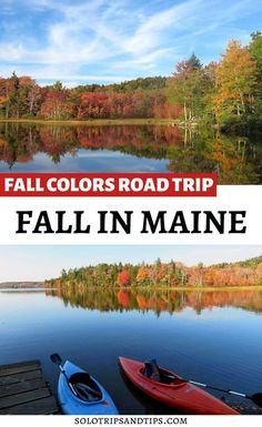 I'm lucky that I got to road trip around the coast of Maine in October, the best month to see fall foliage in New England Maine Road Trip, Us Road Trip, Maine New England, New England Travel, Fall Vacations, Romantic Vacations, Romantic Travel, Maine In The Fall, Visit Maine