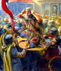 Julian the Apostate proclaimed the Emperor of the Roman Empire in Constantinople