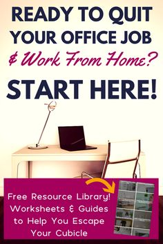 Because getting started is the hardest part -- this guide will help you find the right work from home job for you!