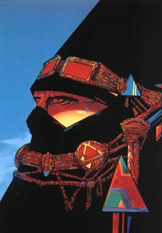 Philippe Druillet Illustrations, Illustration Art, Heavy Metal, Character Art, Character Design, Bd Art, Science Fiction Art, Art Graphique, Sci Fi Art