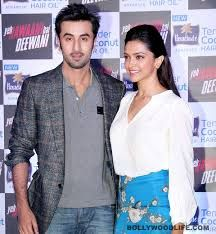 when ranbir& DEPIKA promoting their film yjhd