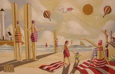 Summer Surf by Alexis Bester | Dante Art Gallery
