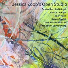 Jessica Zoob's September Open Studio