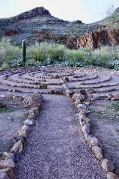 We plan to put a labyrinth on our Farm. Labyrinth Walk, Labyrinth Garden, Garden Art, Garden Design, Prayer Garden, Labrynth, Cosmos, Foto Real, Medicine Wheel