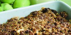 Kauraomenapaistos Cereal, Oatmeal, Goodies, Gluten Free, Sweets, Breakfast, Desserts, Recipes, Food