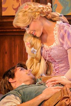 Rapunzel's Fairytale ~ The Royal Theatre, Disneyland