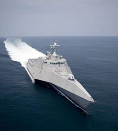 USS Independence LCS-2 Stealth Trimaran