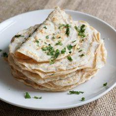 Koolhydraatarme tortilla's - Recept - Lowcarbchef.nl
