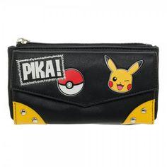 Pokemon Pikachu Pika Flap Wallet