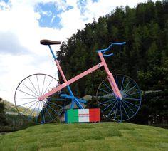 Bici del Maestro Bolley per il Giro d'Italia