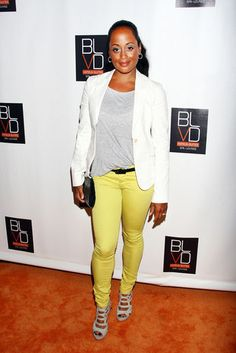 Casual Chic    Essence Atkins attends The BLVD Hotels 1 Year Anniversary…