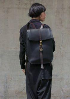 Postal Backpack #1Black.