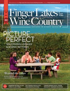 Finger Lakes Wine Trails, our other home. This is where my husband grew up and it is always fun to visit, there are so many wineries to choose from!