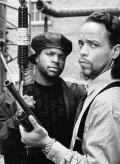 Ice Cube and Ice T