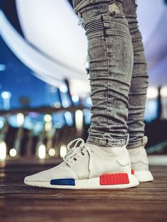79cbd8960 Adidas NMD R1 Primeknit - White - 2016 (by JonT24) Keep kicks fresh with