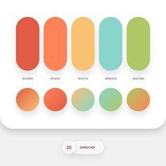 7315 likes, 45 comments - Color Palette Roundup 3 By - Dopely Colors 15 Flat Color Palette, Colour Pallette, Colour Schemes, Color Combos, Color Psychology, Psychology Studies, Psychology Meaning, Psychology Facts, Web Design