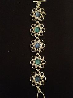 Chain maille-Galactic seas - Jewelry Making Daily