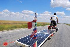 The Sun Trip : une course pour la promotion du vélo solaire - Wehicles