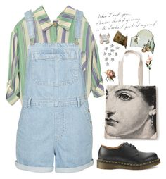 """""""My skin's not as rough as I make it out to be"""" by tarynasaurus ❤ liked on Polyvore featuring Topshop, Dr. Martens, Rosanna, Linea, women's clothing, women, female, woman, misses and juniors"""