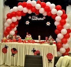 Birthday Cake, Desserts, Food, Helium Balloons, Globe Decor, Themed Parties, Birthday Cakes, Deserts, Dessert