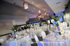 Voici notre salle de réception le Grand Héron pour un mariage de 90 à 200 invités. Chic et intemporel. / Crédit photo : Catherine Dumont et photographe #salle #réception #mariage #rivesud