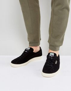 PUMA TE-KU SNEAKERS SUEDE SNEAKERS IN BLACK 36499004 - BLACK. #puma #shoes #