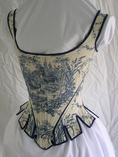 toile stays/corset