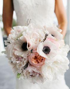 Bouquet de pivoines pour un mariage - Les jolies idées déco pour un mariage - Elle Décoration