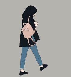 Female Cartoon, Girl Cartoon, Cartoon Art, Cover Wattpad, Fashion Model Sketch, Hijab Drawing, Friends Illustration, Cartoon Wallpaper Hd, Islamic Cartoon