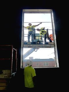 Specified Systems Inc. of Canonsburg jumped at a window of opportunity to assist in the renovation of a youth center slated to open at the former National Guard armory in Canonsburg. Literally. The erecting distributor company donated and installed eight 6 1/2-foot-by-12 1/2-foot windows at the building, which is owned by Metro Pittsburgh Youth for Christ, at no cost to the youth center.