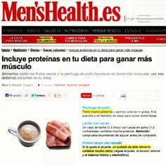 Pechuga de pollo, frutos secos con wasabi y leche con cacao son fuentes de proteínas