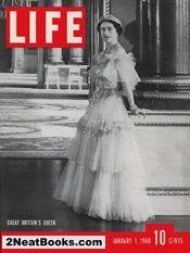 January 1, 1940 life magazine cover: QUEEN ELIZABETH