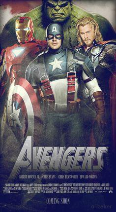#The #Avengers #Movie #Fan #Art.