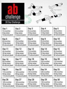 AB challenge 30 day