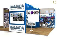 Case Studie - Stand F.Ramada - Fair EMAF, Exponor, Porto - Julho 2012
