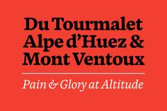 Blanco Typeface by Dave Foster, via Behance