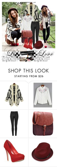 """""""Romwe 7/IV"""" by merima-p ❤ liked on Polyvore featuring Topshop and Chanel"""