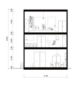 A life with large opening / on design partners minimal architecture, architecture student, japanese Architecture Symbols, Architecture Student, Architecture Drawings, Architecture Details, Minimal Architecture, Living Room Elevation, Section Drawing, Elevation Drawing, Interior Rendering