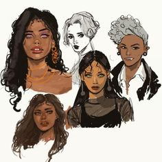 Black Girl Art, Art Girl, Pretty Art, Cute Art, Amazing Drawings, Amazing Art, Art Sketches, Art Drawings, Animation Sketches