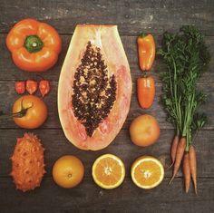 Orange vegetables photography by Emily Blincoe - New Site Pattern Photography, Food Photography, Things Organized Neatly, Vegetables Photography, Collections Photography, Kitchen Time, Oddly Satisfying, Fruit Art, Food Design